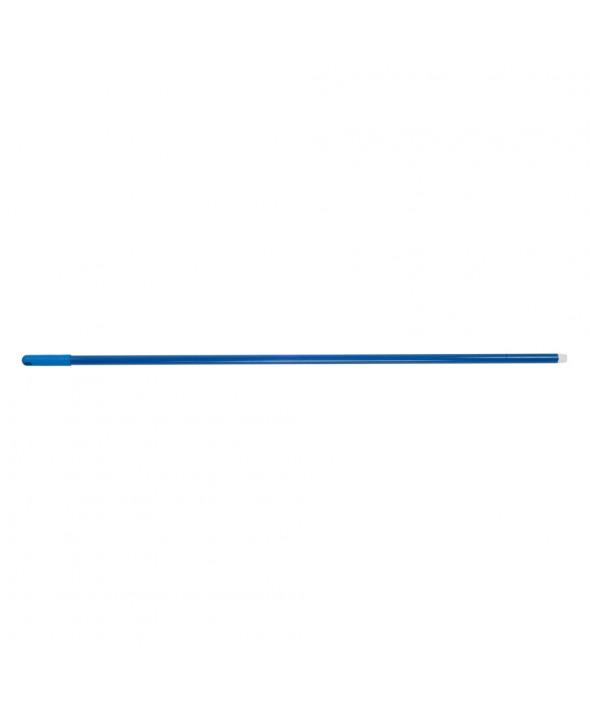 Glasfibersteel blauw met schroefdraad - 1,40 m