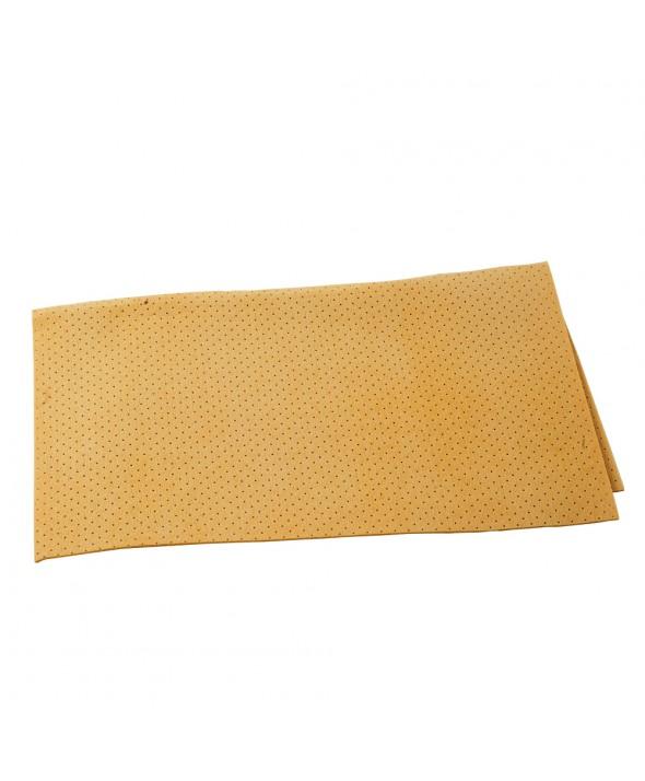 Synthetische zeemvel met gaatjes - 40 x 35 cm
