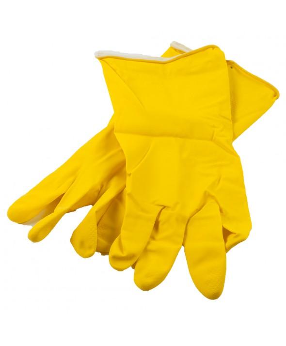 Huishoudhandschoen - Geel - Medium
