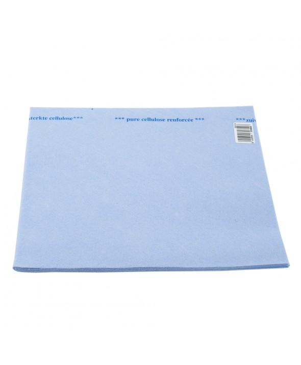 Dweil blauw - 60 x 70 cm - 100% zuiver cellulose