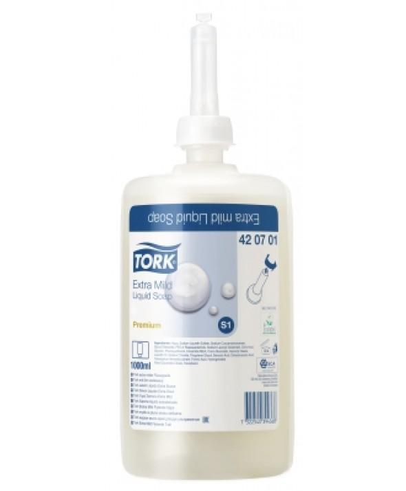 Handzeep Tork - Extra Mild - zonder parfum - 6 x 1 l - 42.07.01