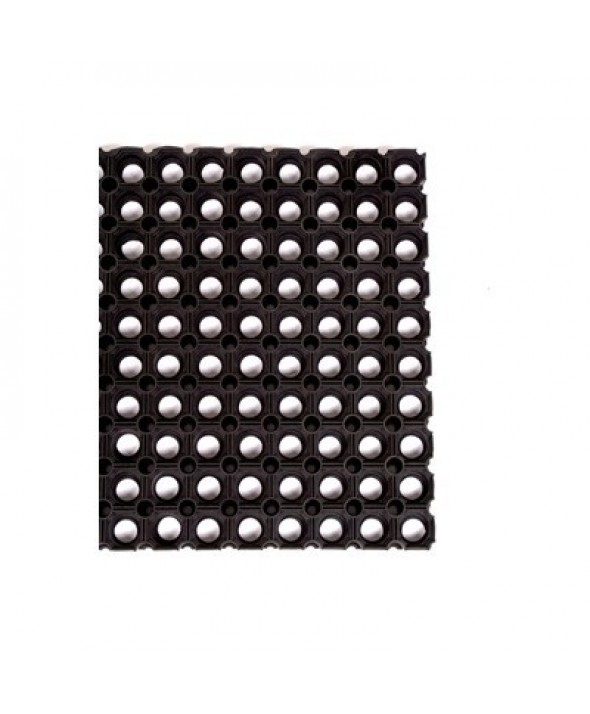 Rubber ringmat - 23 mm - maatwerk per m²
