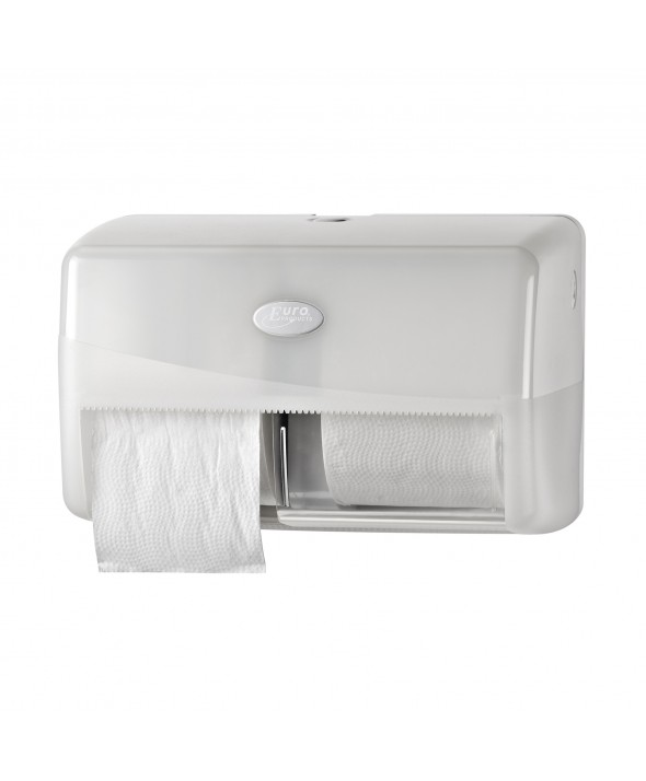 Duo Toiletroldispenser - Pearl White