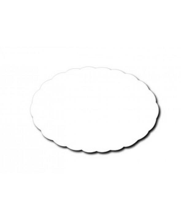Schotelpapier ovaal - 21 cm x 14 cm - 100 stuks
