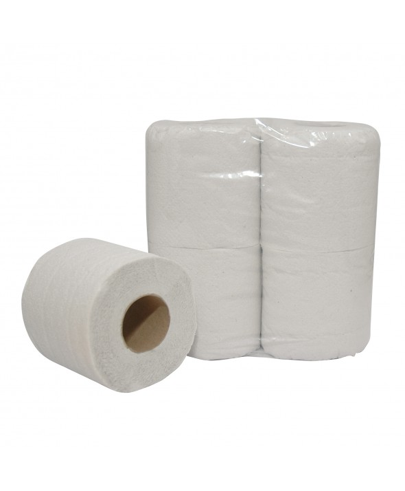 Toiletpapier - Wit - Recycled Tissue - Eco - 2 lgs - 200 vel - 64 rol
