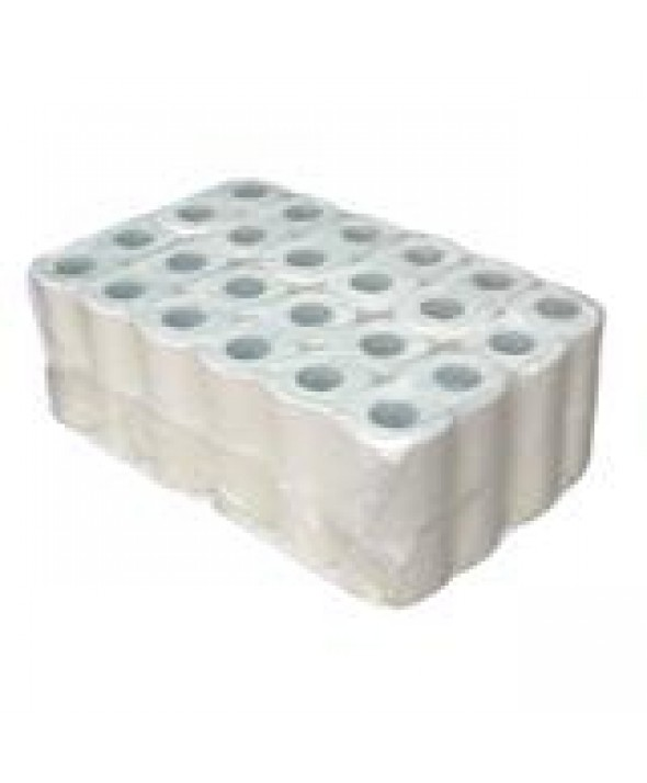 Toiletpapier Super Tissue - 2 laags - 200 vel/rol - 12 X 4 rollen/pak