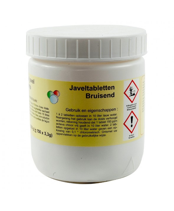 Javeltabletten - 500 g / pot