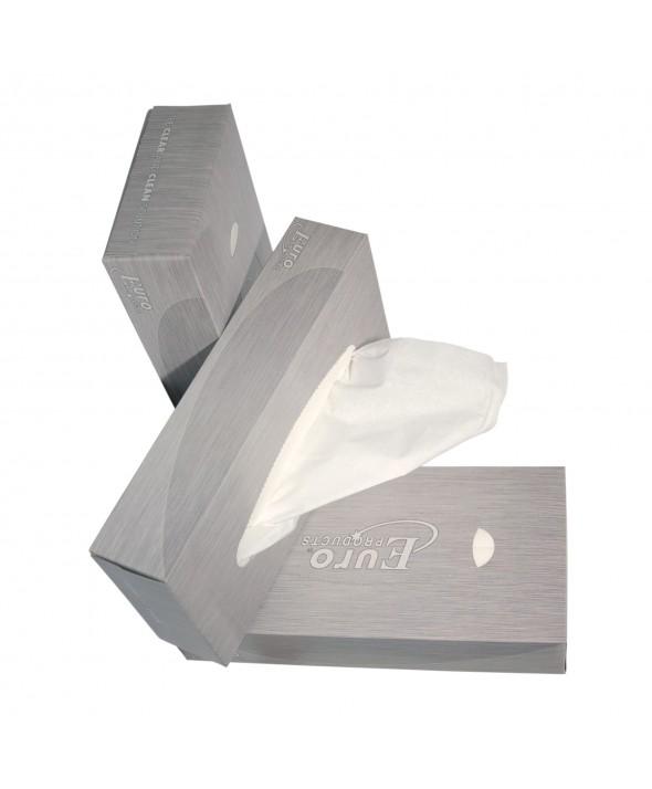 Facial Tissue - 2 laags - 21 x 21 cm - 40 x 100 stuks