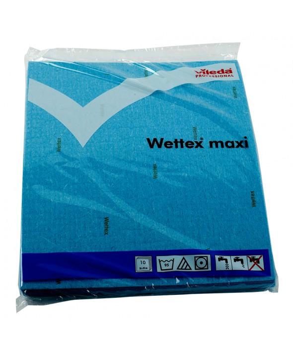 Vileda - Wettex Maxi - Sponsdoek 26 x 31 cm - blauw - 10 stuks