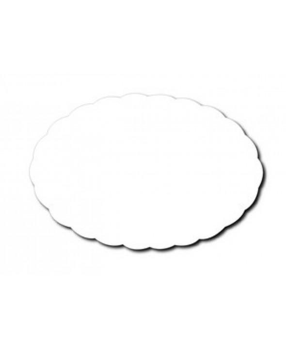 Schotelpapier ovaal - 24 cm x 16 cm - 100 stuks