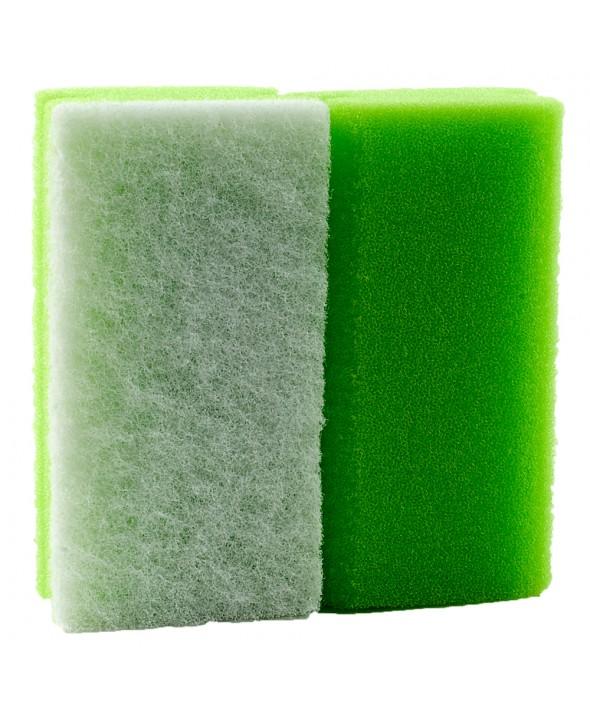 Schuurspons Groen / Wit