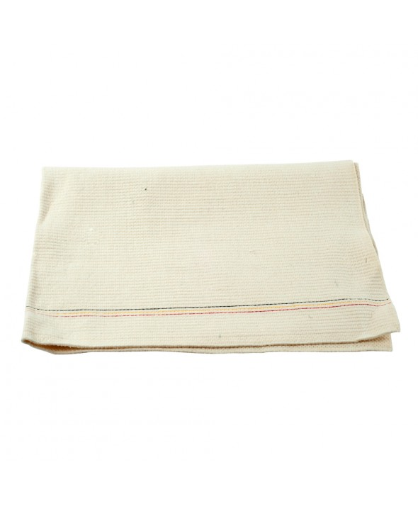 Dweil katoen fijn - 60 x 90 cm - wit