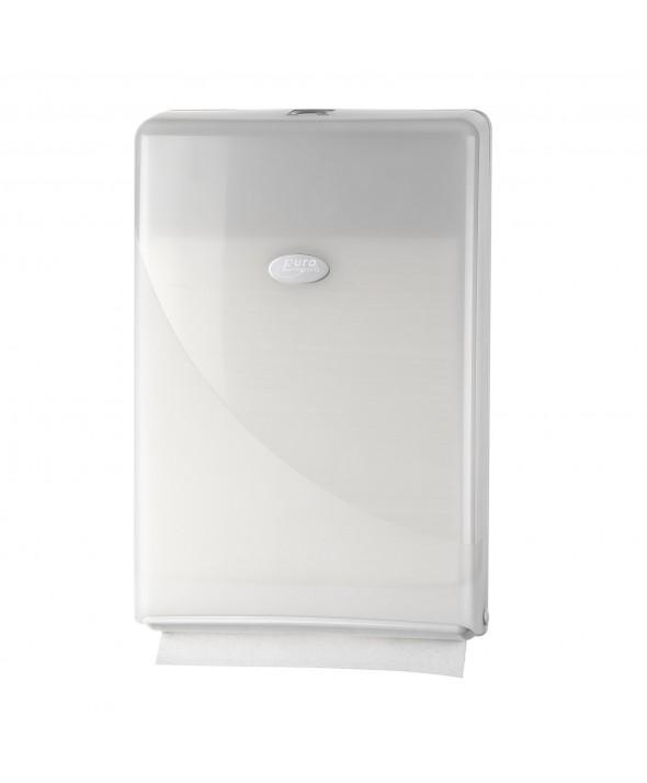 Handdoekdispenser Slimfold/Minifold, Pearl White