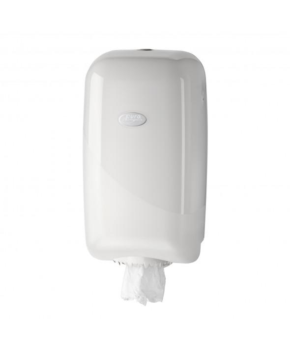 Mini poetsrol dispenser - Pearl White