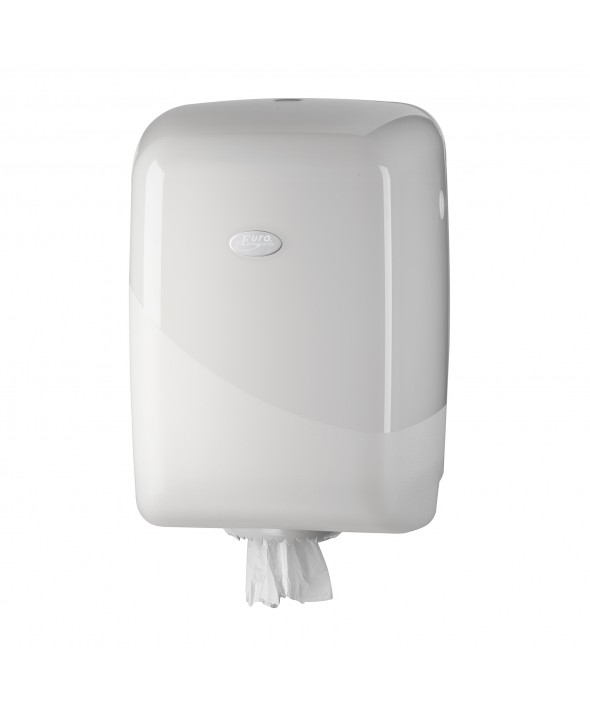 Maxi Poetsrol Dispenser - Pearl White