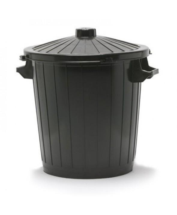 Ronde vuilnisbak met deksel - 50 l