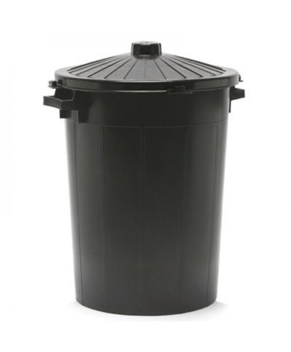 Ronde vuilnisbak met deksel - 100 l